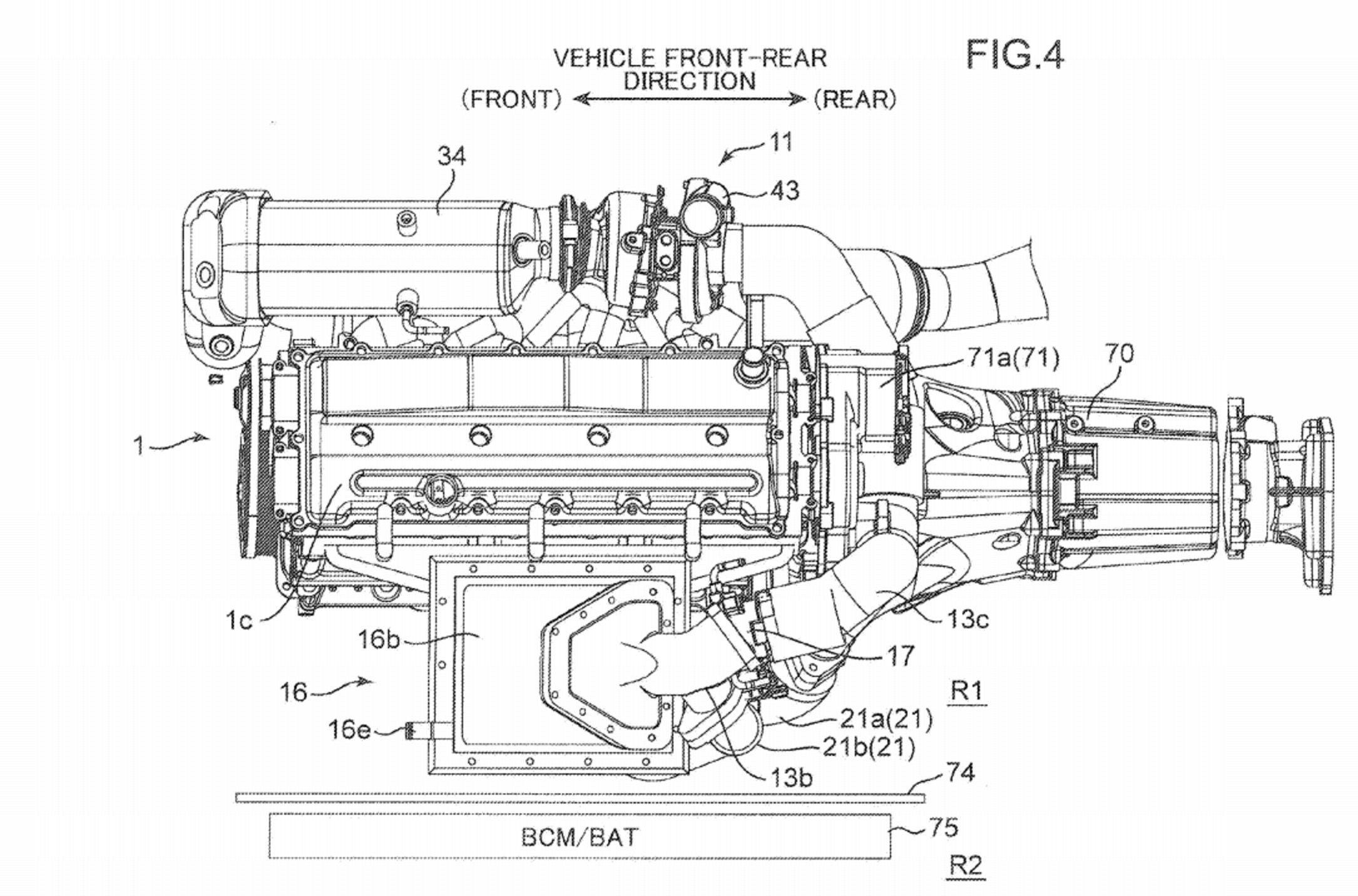Mazda Patents Engine With Two Turbos And An Electric