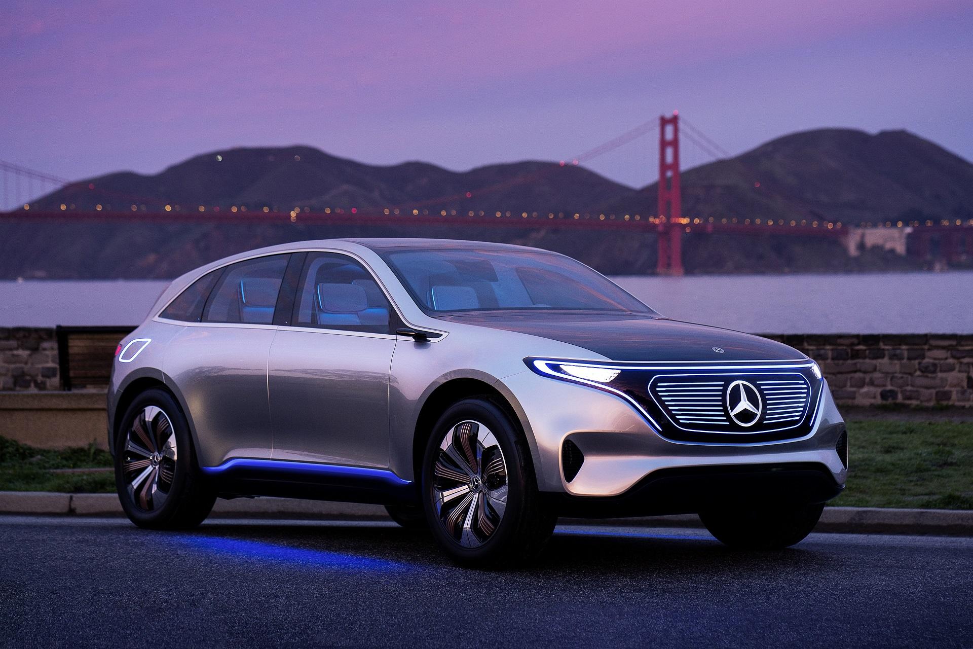 MercedesBenz electric cars to arrive sooner as urgency