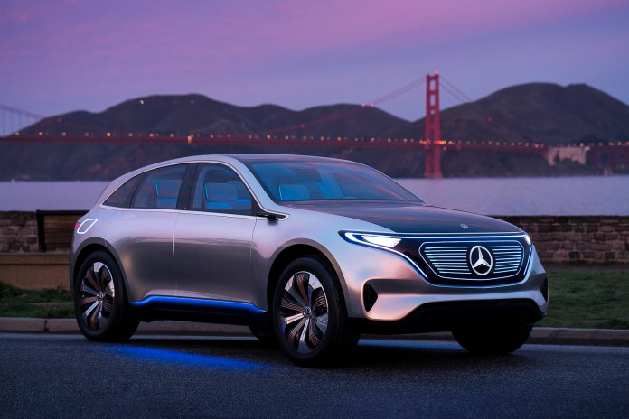 mercedes-benz electric cars to arrive sooner as urgency increases