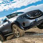 Mercedes Benz Eqc 4x4 Scouts The Trail For An Electric G Wagen