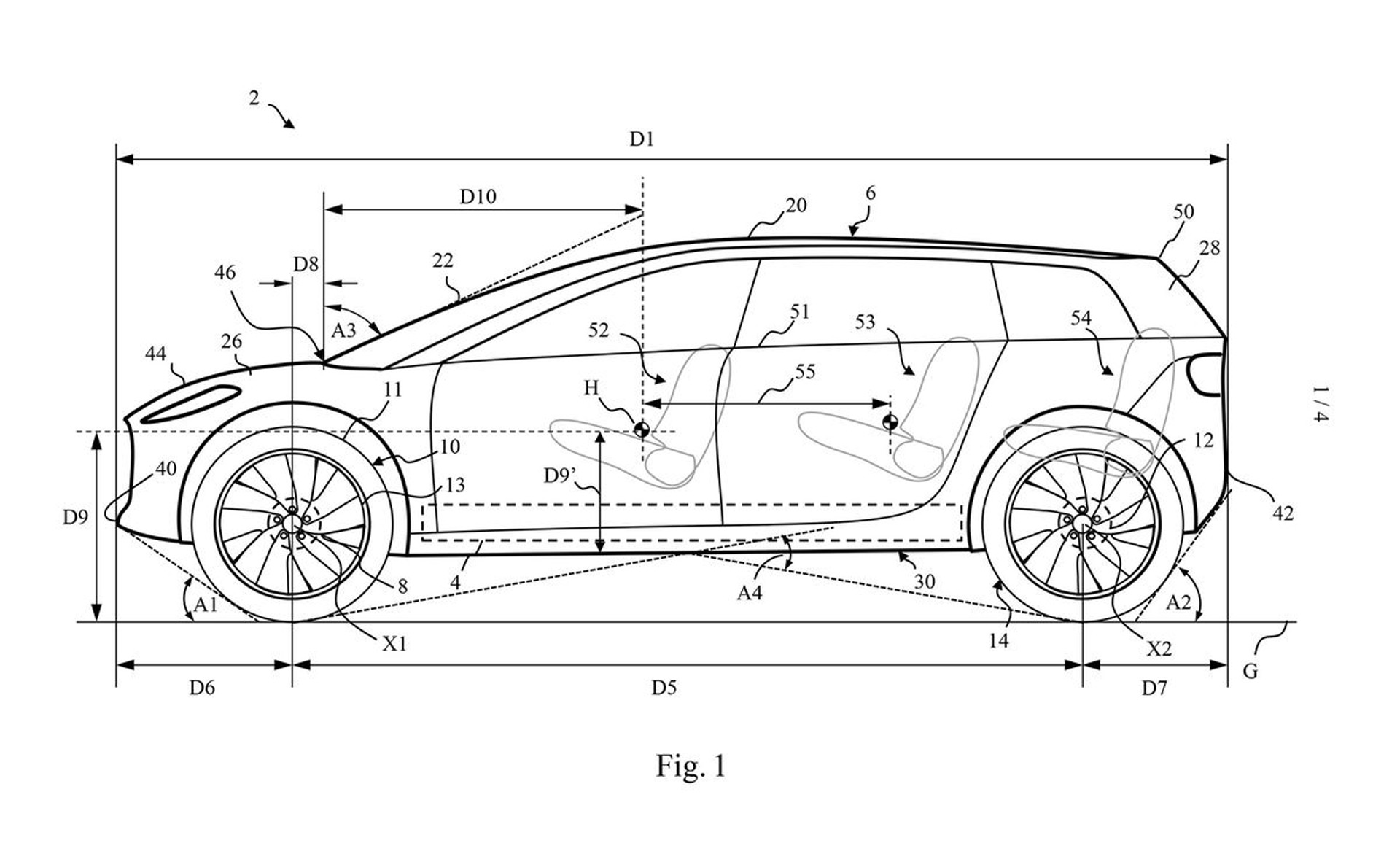 Patent Suggests Dyson S First Ev Will Be A Tesla Model X Rival