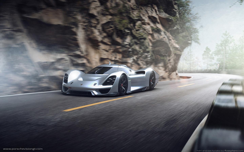 Crown Vic Car Wallpaper Independent Designers Create Virtual Porsche Vision Gran