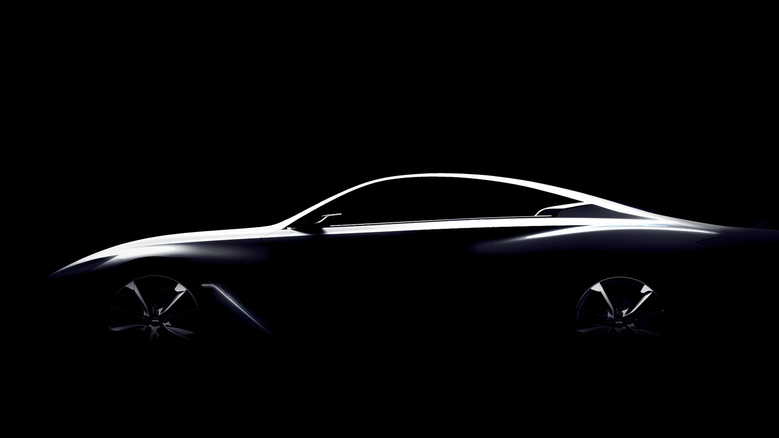 Hd Flat Black Muscle Car Wallpapers Infiniti Teases Q60 Coupe Concept
