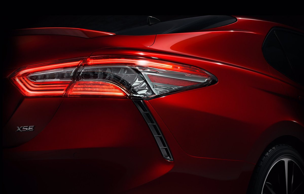 all new camry 2018 malaysia bumper depan grand veloz toyota teased ahead of detroit auto show