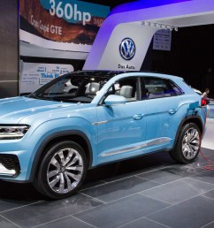 volkswagen cross coupe plug in hybrid concept mid size suv previewed for 2016 [ 2000 x 1333 Pixel ]