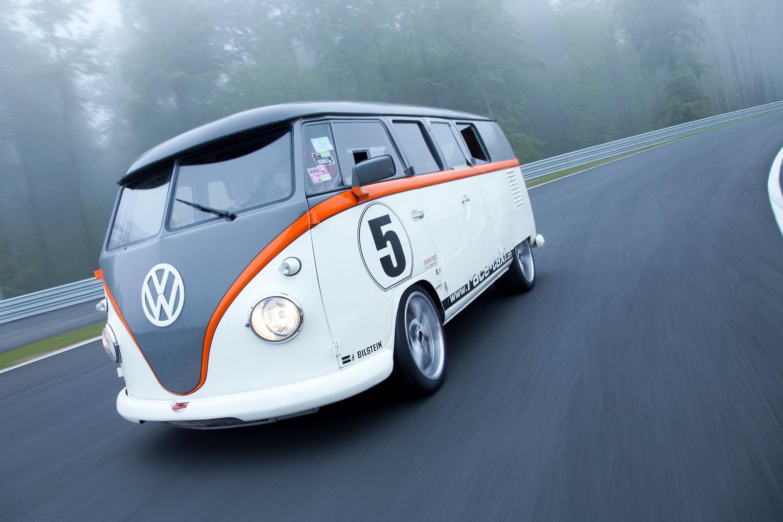 Porsche Powered Volkswagen Bus Race Taxi Debuts At