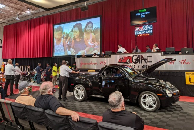 Chevrolet SSR selling for charity