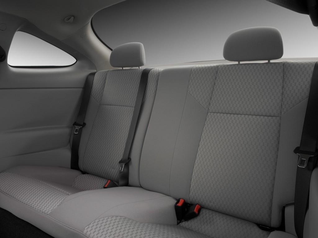Image 2008 Chevrolet Cobalt 2 Door Coupe LT Rear Seats