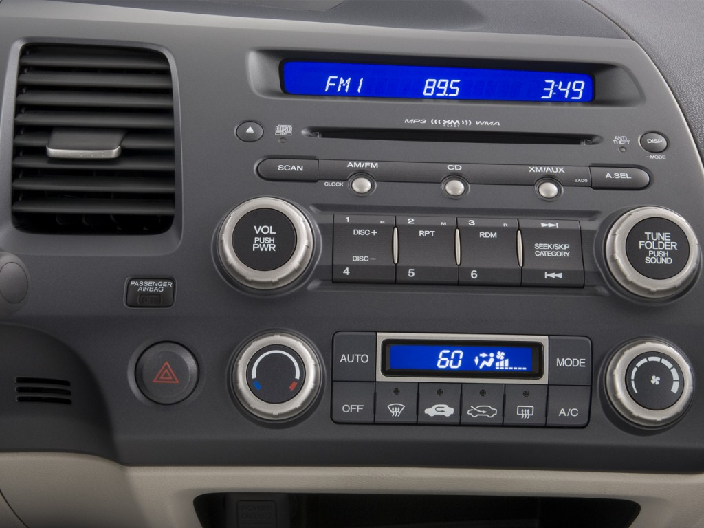 Image 2008 Honda Civic Hybrid 4 Door Sedan Instrument
