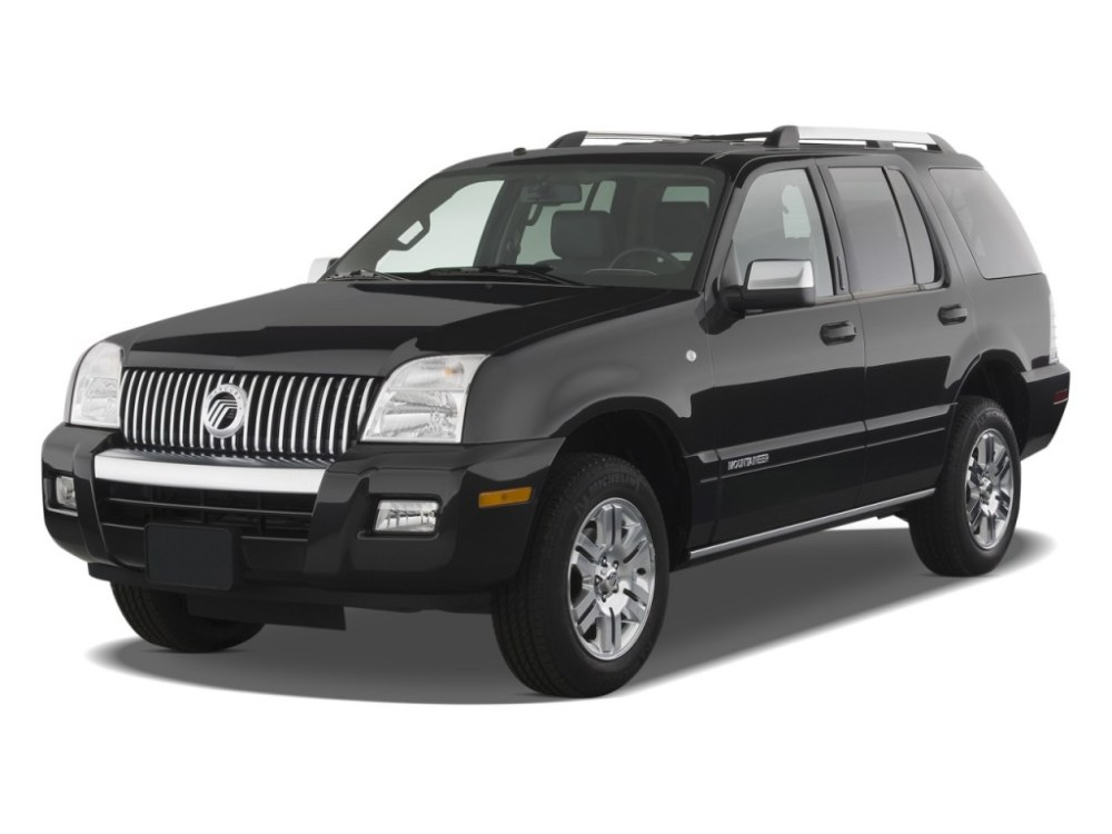 medium resolution of 2008 mercury mountaineer review ratings specs prices and photos the car connection
