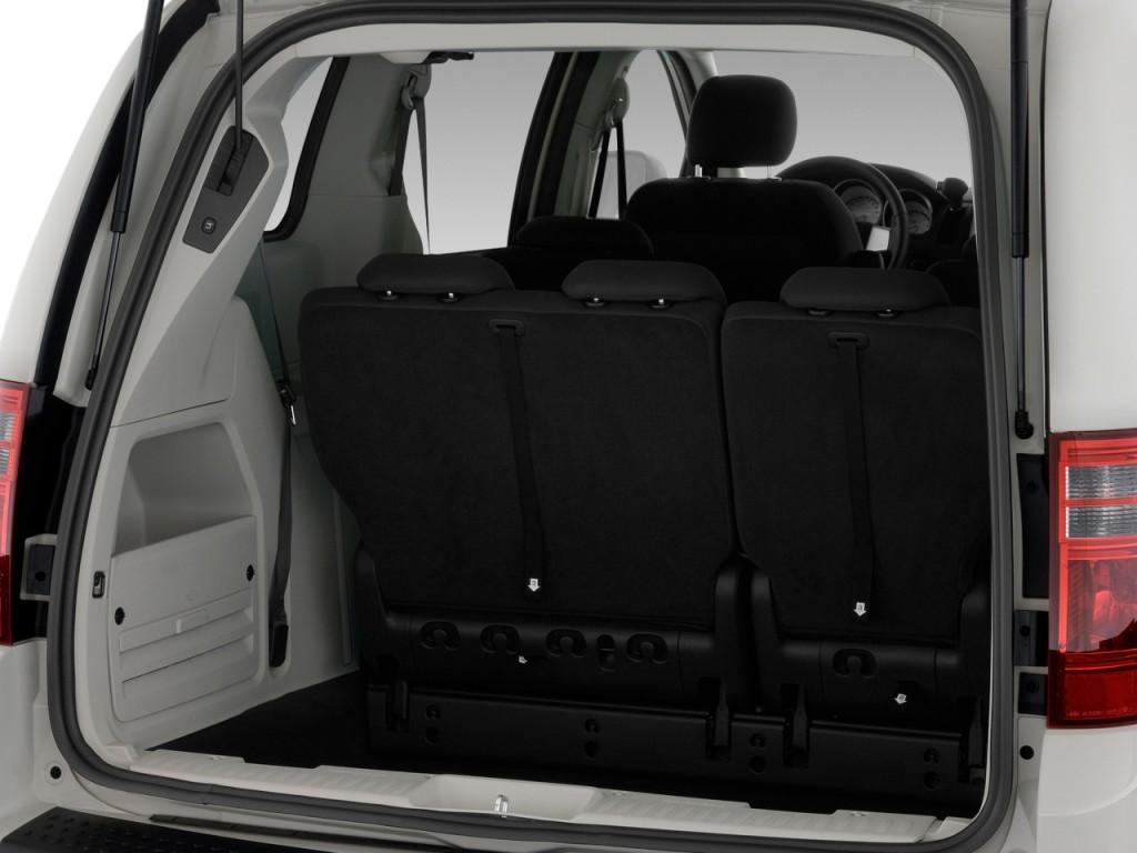 Image 2009 Dodge Grand Caravan 4 Door Wagon Sxt Trunk Size 1024 X 768 Type Gif Posted On