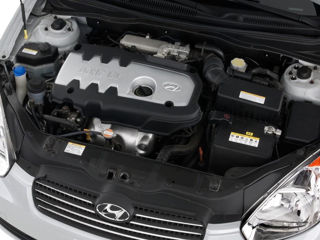 Image 2010 Hyundai Accent 4 Door Sedan Auto GLS Engine