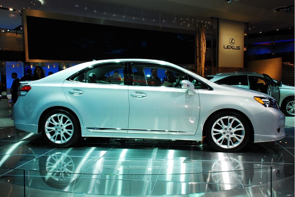 Image 2010 Lexus Hs 250h Hybrid Sedan Live 09, Size 1024