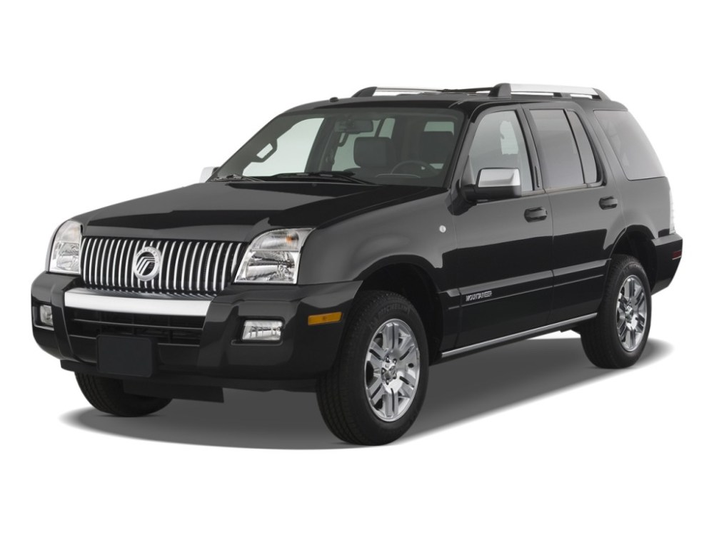 medium resolution of 2010 mercury mountaineer review ratings specs prices and photos the car connection