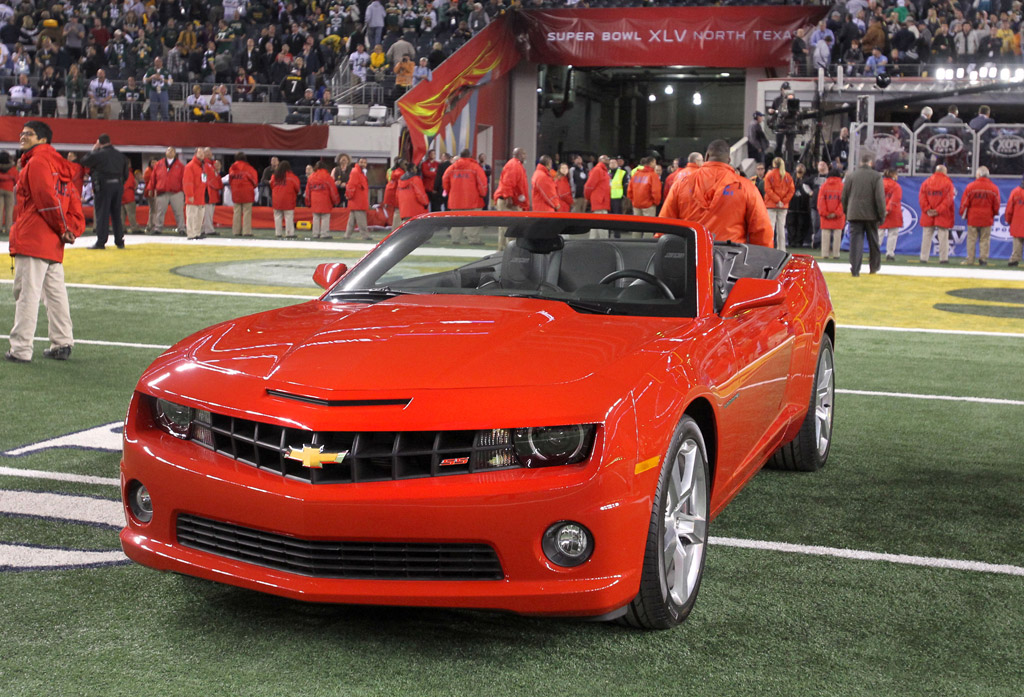 Image Super Bowl Mvp Aaron Rodgers Wins New Chevy Camaro