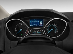 Image: 2012 Ford Focus 4door Sedan SE Instrument Cluster
