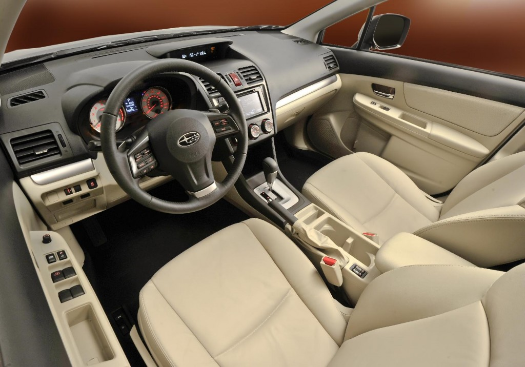 Image 2012 Subaru Impreza Interior Size 1024 X 716
