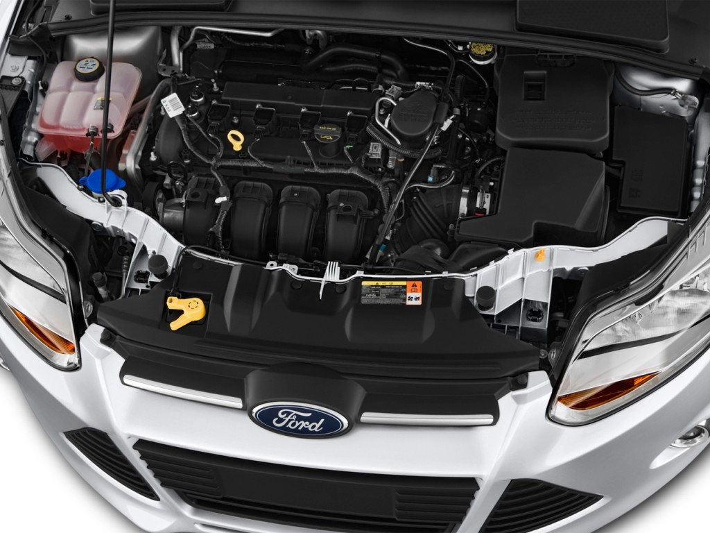 Image 2013 Ford Focus 4 Door Sedan Se Engine Size 1024