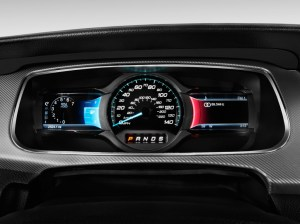 Image: 2013 Ford Taurus 4door Sedan SHO AWD Instrument Cluster, size: 1024 x 768, type: gif