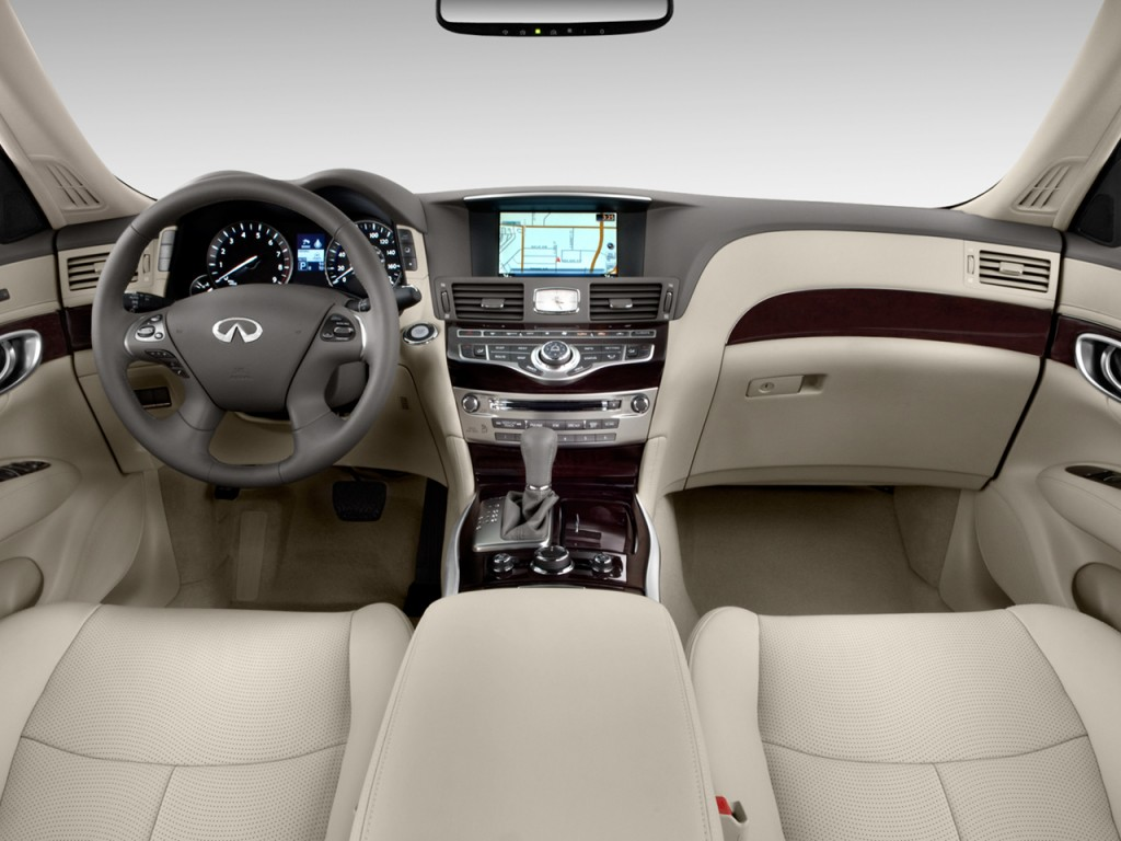 Image 2013 Infiniti M56 4 Door Sedan RWD Dashboard Size
