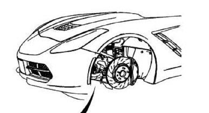 2014 Chevy Corvette Front End Revealed On GM Service Website?