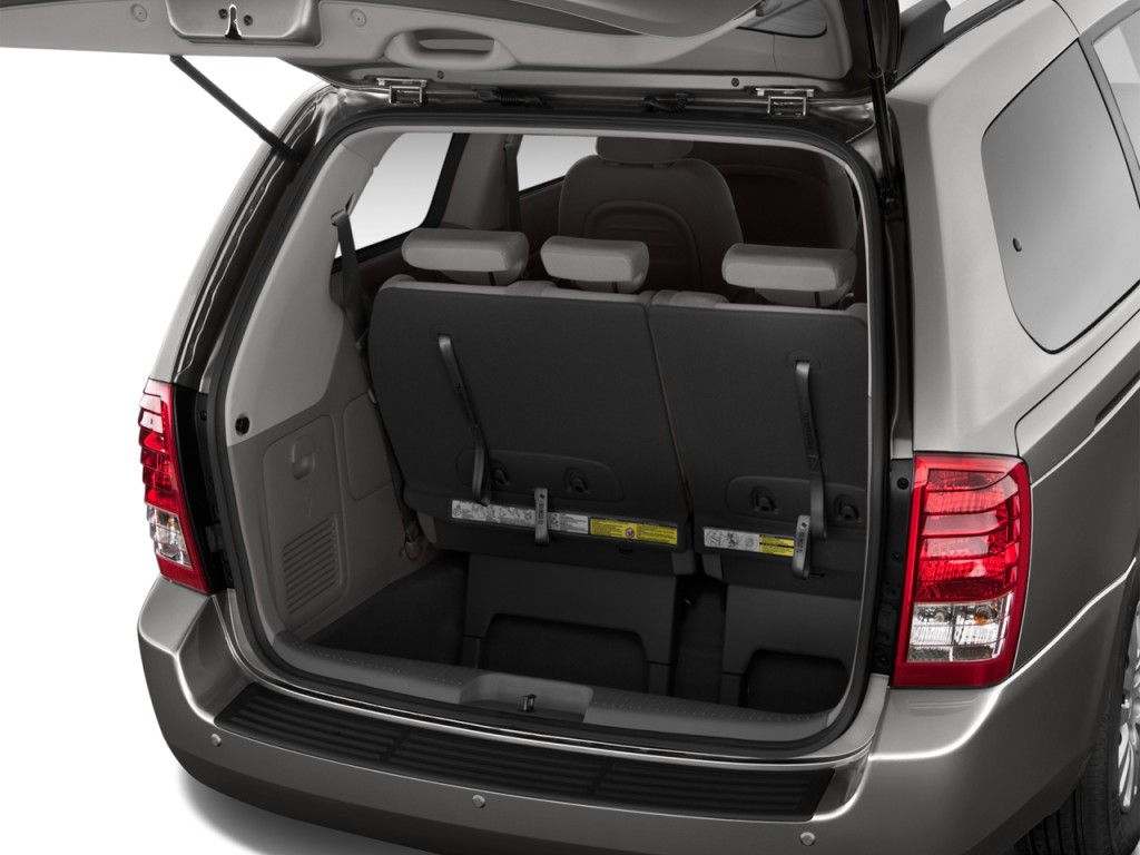 hight resolution of image 2014 kia sedona 4 door wagon lx trunk size 1024 x