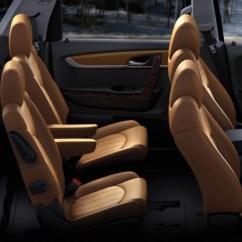 Captain Chairs Suv Steel Chair Joints Suvs With S Plus Third Row Seats Shopper Shortlist 2015 Chevrolet Traverse Ltz