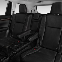 2017 Gmc Acadia With Captains Chairs Pub Table Image 2016 Toyota Highlander Fwd 4 Door V6 Limited