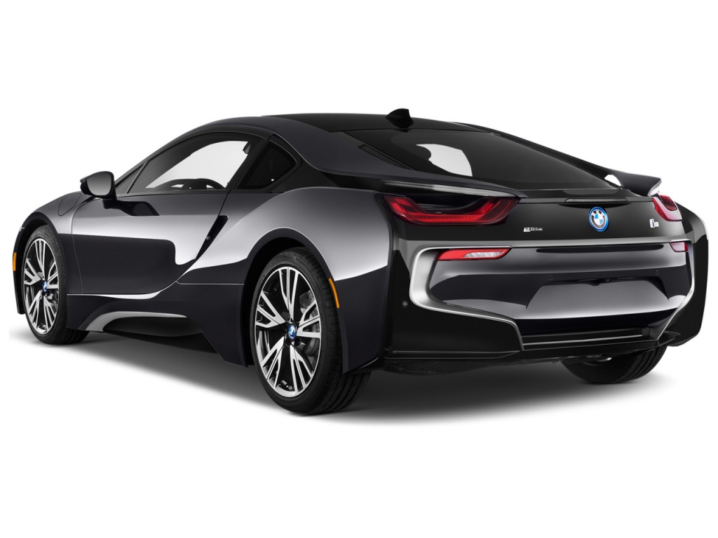 Image 2017 Bmw I8 Coupe Angular Rear Exterior View, Size