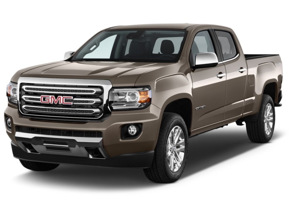 medium resolution of 2017 gmc canyon review ratings specs prices and photos the car