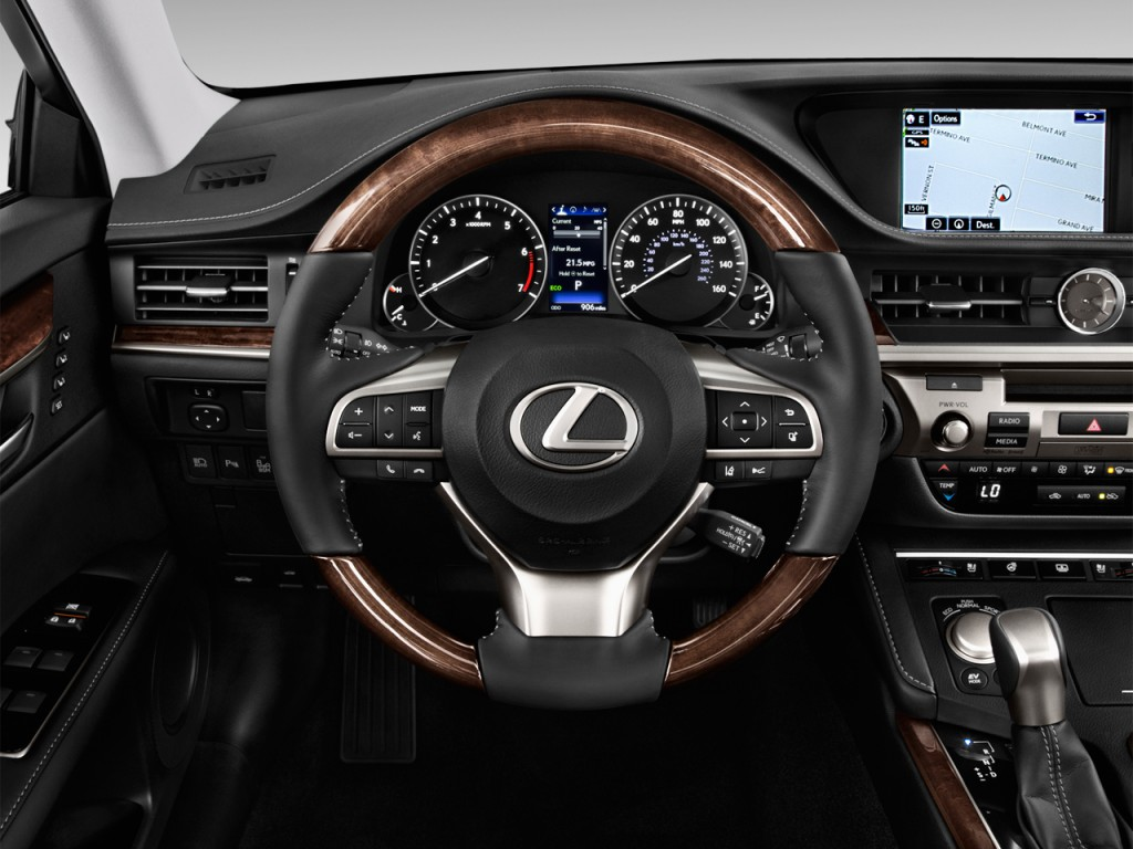Image 2017 Lexus ES ES 350 FWD Steering Wheel size 1024 x 768 type gif posted on