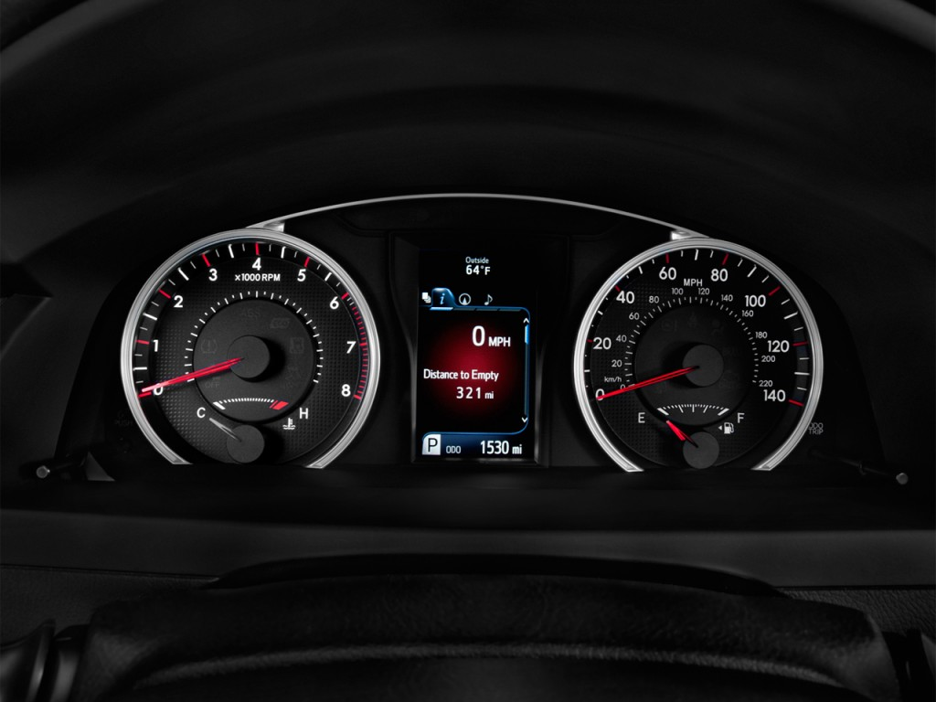 Image 2017 Toyota Camry Xse Automatic Natl Instrument