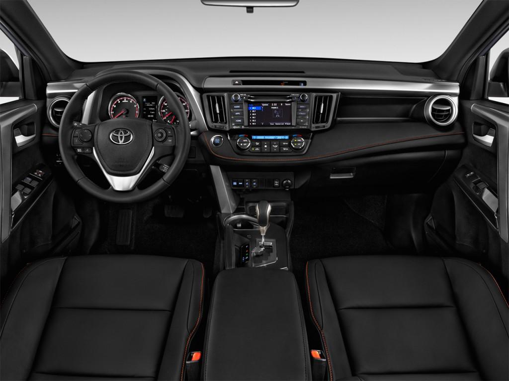 Image 2017 Toyota Rav4 Se Fwd Natl Dashboard Size