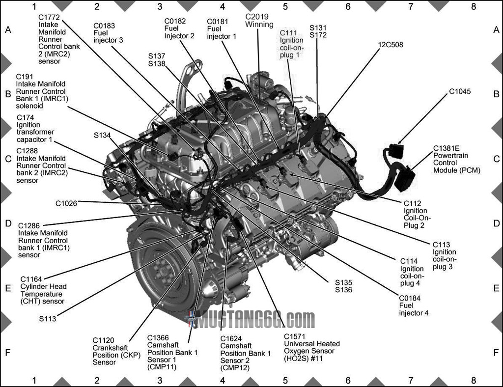 hight resolution of ford 3 8 engine diagram fuel injection