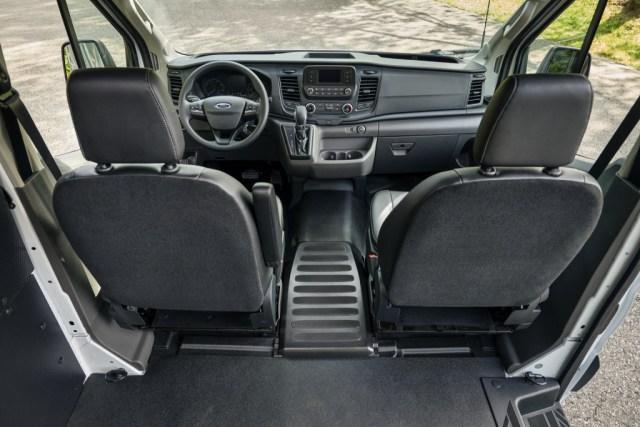 2021 Ford Transit van