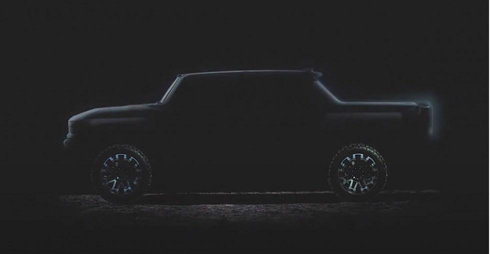 2022 GMC Hummer EV SUT profile