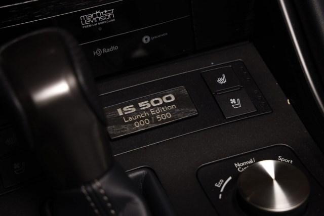 2022 Lexus IS 500 F Sport Performance Launch Edition