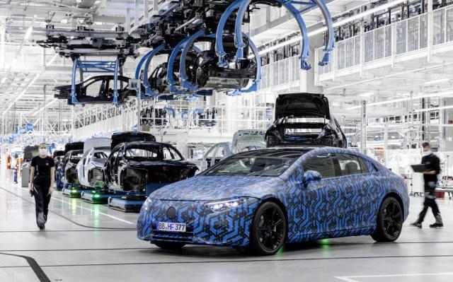 2022 prototipo Mercedes-Benz EQS