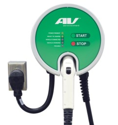 aerovironment ev charger electric car charging station evse  [ 1024 x 1100 Pixel ]