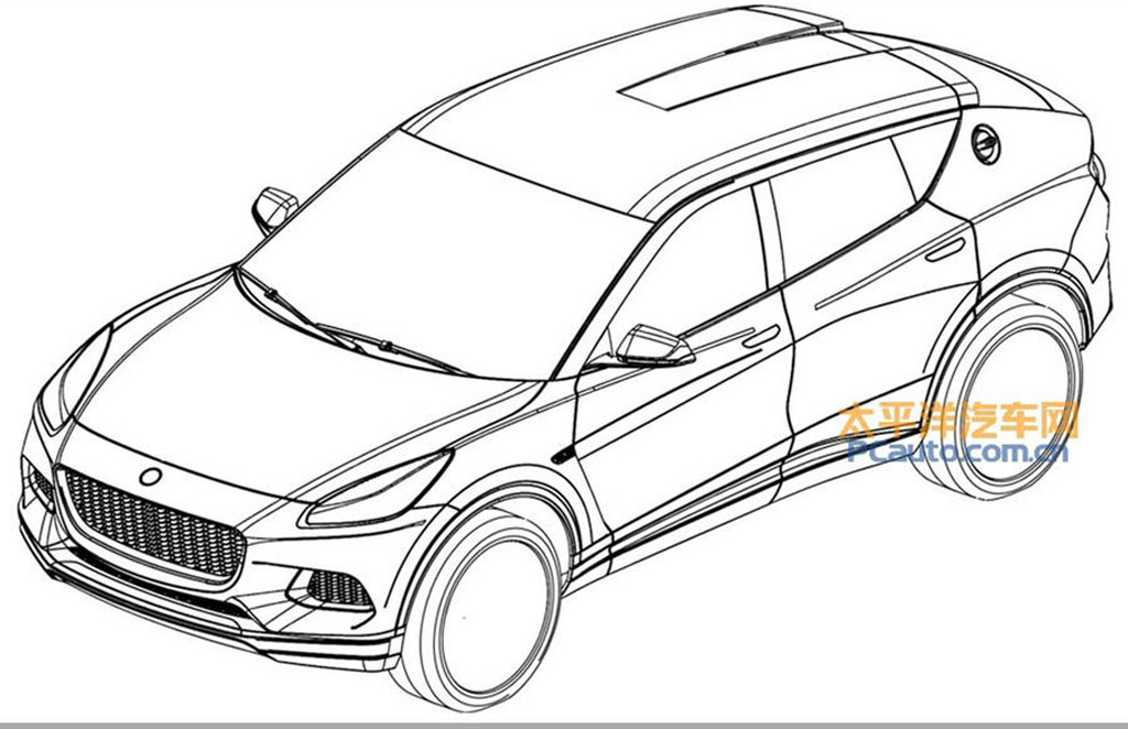 Lotus SUV may have been revealed in patent drawings