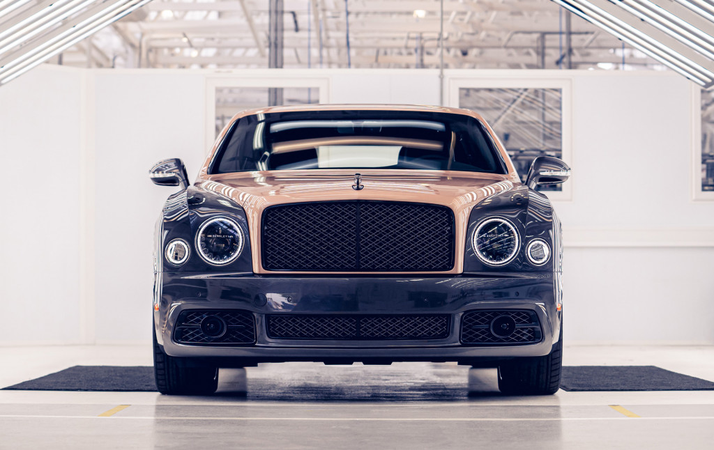 Bentley Mulsanne production comes to an end - June 2020