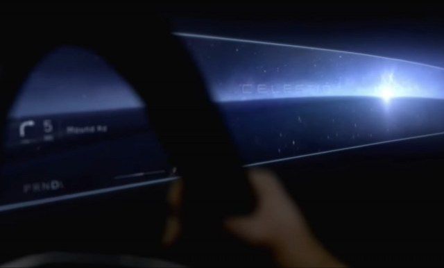 Cadillac Celestiq teased during General Motors' 2021 CES presentation