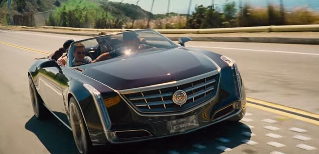 Drama Drives A Cadillac Ciel Four Door Convertible In