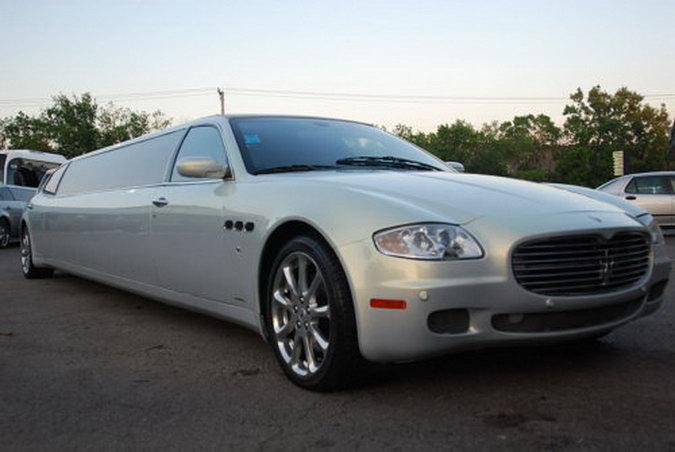Maserati Quattroporte Limo Found On EBay