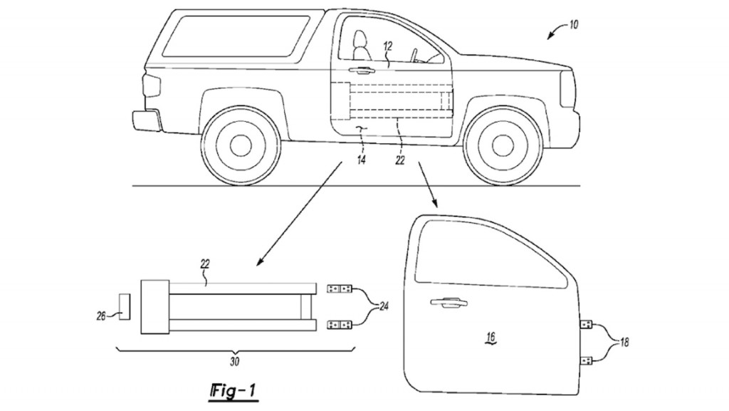 Possible 2021 Ford Bronco patent shows off trick removable