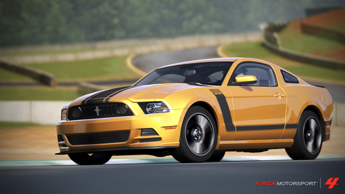 Muscle Cars Mustang Wallpaper Forza Motorsport 4 August Playseat Car Pack