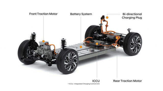 All-electric Genesis GV60 is a luxury counterpart to Hyundai Ioniq 5 and Kia EV6 - T-Gate