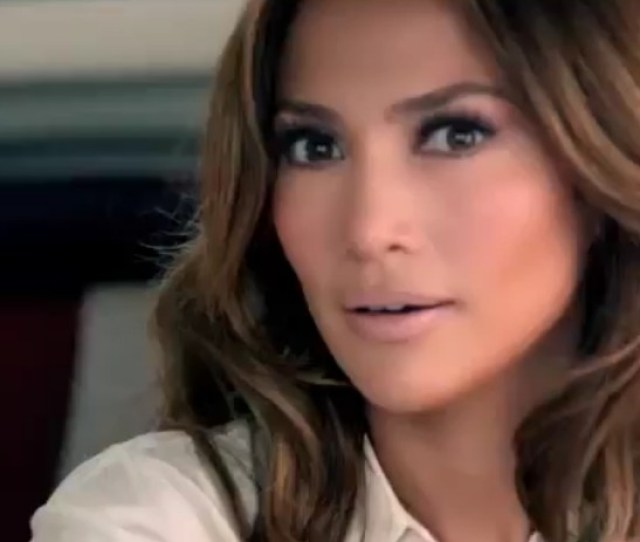 Jennifer Lopez In An Ad For The C