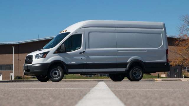 Lightning Systems Ford Transit electric conversion
