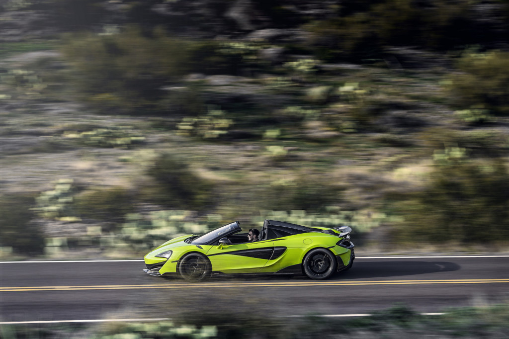 First Drive Review 2020 Mclaren 600lt Spider Sounds Serious